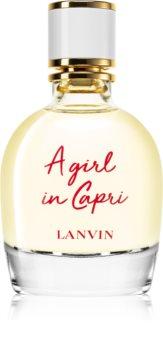 Lanvin A Girl In Capri Eau de Toilette para mulheres