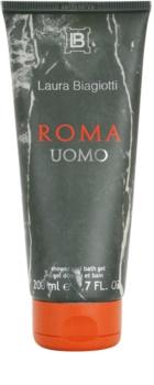 Laura Biagiotti Roma Uomo gel za tuširanje za muškarce