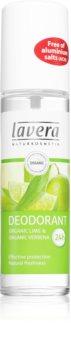 Lavera Organic Lime & Organic Verbena deodorant spray revigorant