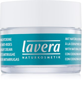 Lavera Basis Sensitiv Q10 crema de noapte cu efect de intinerire