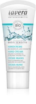 Lavera Basis Sensitiv подхранващ крем за ръце