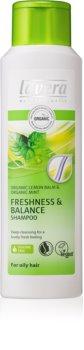 Lavera Balance αναζωογονητικό σαμπουάν για λιπαρά μαλλιά