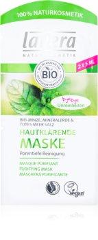 Lavera Bio Mint дълбоко почистваща маска