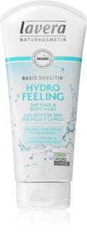 Lavera Hydro Feeling extra jemný sprchový gel a šampon