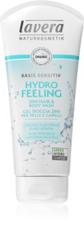 Lavera Hydro Feeling gel douche et shampoing extra-doux
