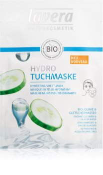 Lavera Sheet Mask Moisturising face sheet mask