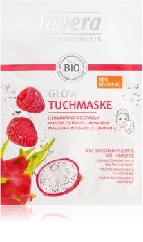 Lavera Sheet Mask maschera in tessuto illuminante