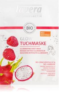 Lavera Sheet Mask plátýnková maska s rozjasňujícím účinkem