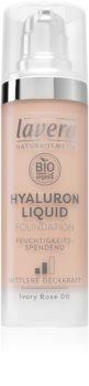 Lavera Hyaluron Liquid Foundation lehký make-up s kyselinou hyaluronovou
