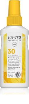 Lavera Sun Sensitiv слънцезащитен спрей SPF 30