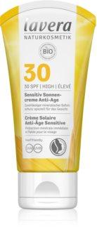 Lavera Sun Sensitiv Anti-Age крем за загар  SPF 30