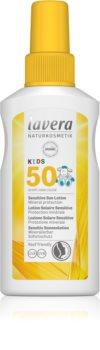 Lavera Sun Sensitiv Kids gyermek spray a napozáshoz SPF 50