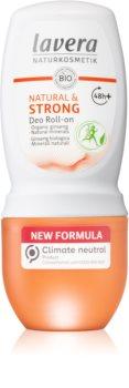 Lavera Natural & Strong golyós dezodor az érzékeny bőrre