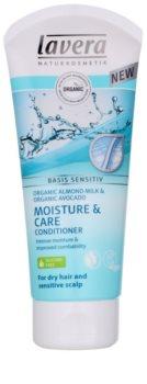 Lavera Basis Sensitiv condicionador para cabelos secos e couro sensível