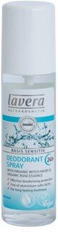Lavera Basis Sensitiv Deodorantti Suihkeessa