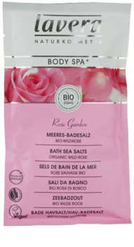 Lavera Body Spa Rose Garden sůl do koupele