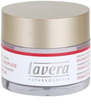 Lavera Faces Bio Cranberry and Argan Oil дневен регенериращ крем  45+