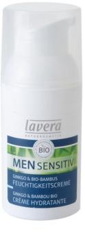 Lavera Men Sensitiv crème de jour hydratante nourrissante