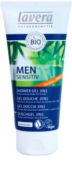 Lavera Men Sensitiv gel de duș 3 in 1