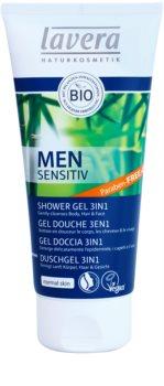 Lavera Men Sensitiv sprchový gel 3 v 1
