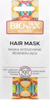 L'biotica Biovax Botanic regenerační maska na vlasy