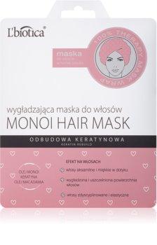 L'biotica Hair Mask увлажняющая разглаживающая маска
