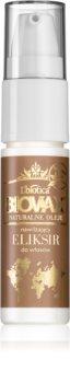 L'biotica Biovax Natural Oil hydratační sérum na vlasy