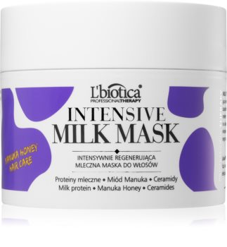 L'biotica Professional Therapy Milk Mask for Shiny and Soft Hair