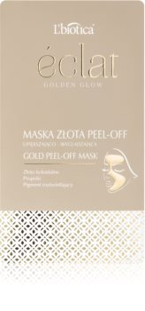 L'biotica Masks Golden Glow slupovací pleťová maska