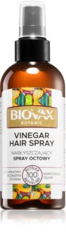 L'biotica Biovax Botanic spray do wzmocnienia włosów i nadania im większego połysku