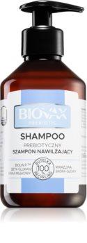 L'biotica Biovax Prebiotic Shampoo für trockene Haare und eine empfindliche Kopfhaut