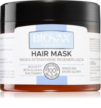 L'biotica Biovax Prebiotic Regenerating Hair Mask