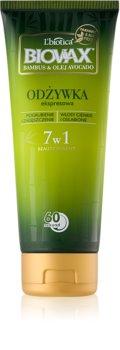 L'biotica Biovax Bamboo & Avocado Oil expresní regenerační kondicionér pro poškozené vlasy