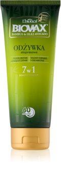 L'biotica Biovax Bamboo & Avocado Oil regenerierender Express-Conditioner für beschädigtes Haar