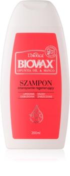 L'biotica Biovax Opuntia Oil & Mango regenerirajući šampon za oštećenu kosu