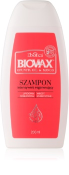 L'biotica Biovax Opuntia Oil & Mango sampon pentru regenerare pentru par deteriorat