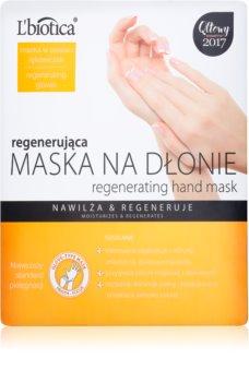 L'biotica Masks maschera rigenerante mani in forma di guanti