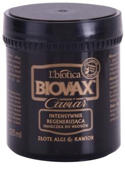 L'biotica Biovax Glamour Caviar masque nourrissant régénérant au caviar