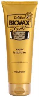 L'biotica Biovax Glamour Gold Regenerating Shampoo With Argan Oil