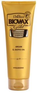 L'biotica Biovax Glamour Gold regenerirajući šampon s arganovim uljem