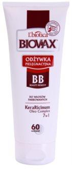 L'biotica Biovax Colored Hair ochranný kondicionér pro barvené vlasy