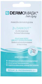 L'biotica DermoMask Anti-Aging mască pentru față impotriva petelor