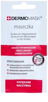 L'biotica DermoMask máscara facial para pequenos derrames no rosto