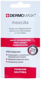 L'biotica DermoMask pleťová maska na rozšírené a popraskané žilky
