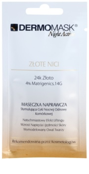 L'biotica DermoMask Night Active Lifting And Firming Mask With 24 Carat Gold