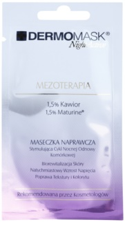L'biotica DermoMask Night Active Maske mit der Wirkung einer Mesotherapie