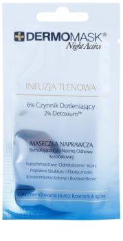 L'biotica DermoMask Night Active máscara oxidante