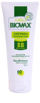 L'biotica Biovax Dull Hair condicionador hidratante para cabelo e couro cabeludo oleosos