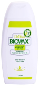 L'biotica Biovax Dull Hair Treating And Strengthening Shampoo For Oily Hair And Scalp