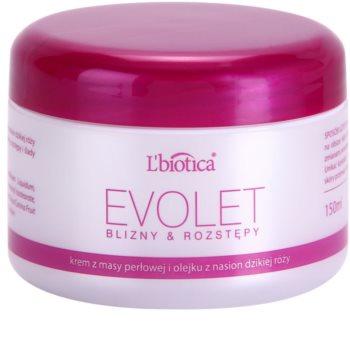 L'biotica Evolet изглаждащ крем за стрии